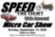 speed the light car show title banner.pn
