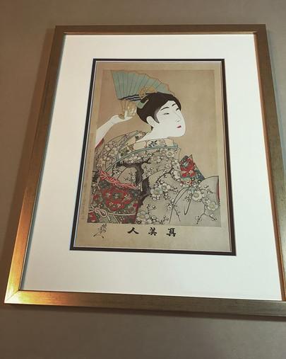 #japanesewoodblock #shunteigyoshi #custo