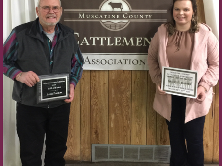 Louie Danner Inducted into Muscatine County Cattleman's Association Hall of Fame