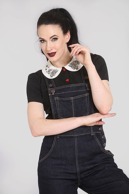 ELLY MAY Blue Denim Dungaree