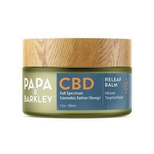 Papa & Barkley - CBD Topical - Releaf Balm 180mg-600mg
