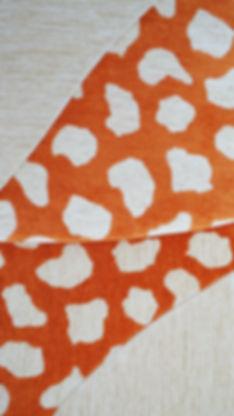 création tissu upcycling toile de mayenne