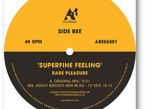 Review: Rare Pleasure - Superfine Feeling (Ashley Beedle's NSW Rejig)  [A's + Bees]