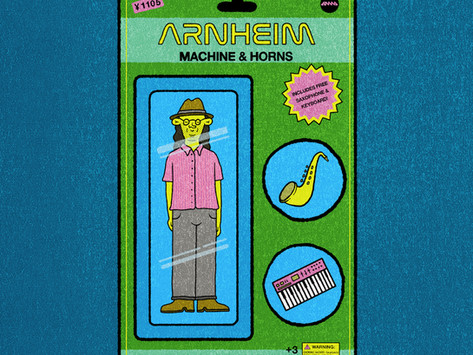 Review: Arnheim - Machine & Horns [ANMA Records]