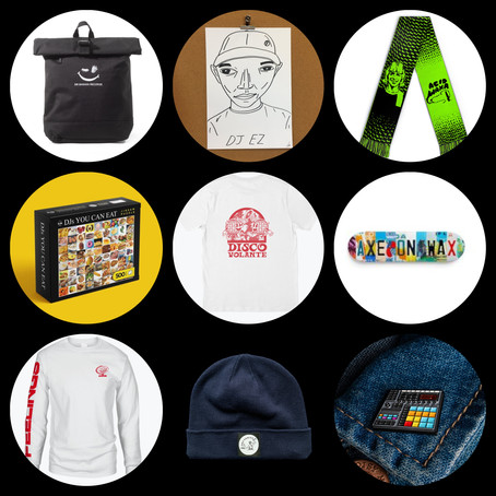 Halcyon Wax's Merch Round Up #2