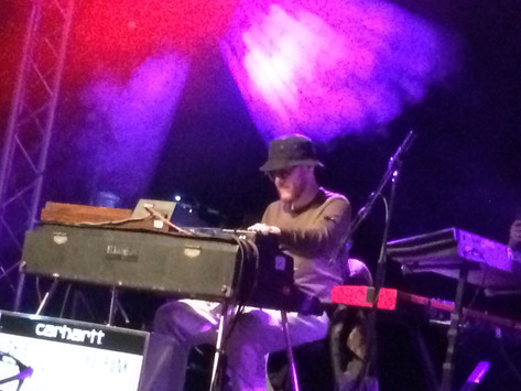 Cosmic Keys and Psychedelic Guitar on Kamaal Williams' The Return Tour