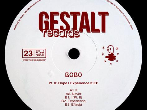 Premiere: Bobo - It [Gestalt Records]