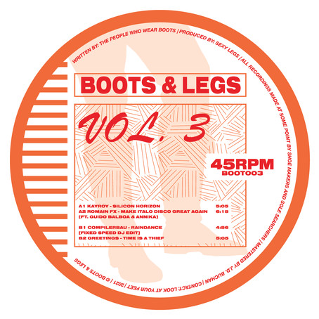 Review: Various Artists - Boots & Legs Vol. 3 [Boots & Legs]