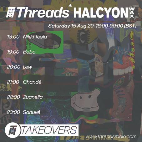 Threads x Halcyon Wax Takeover
