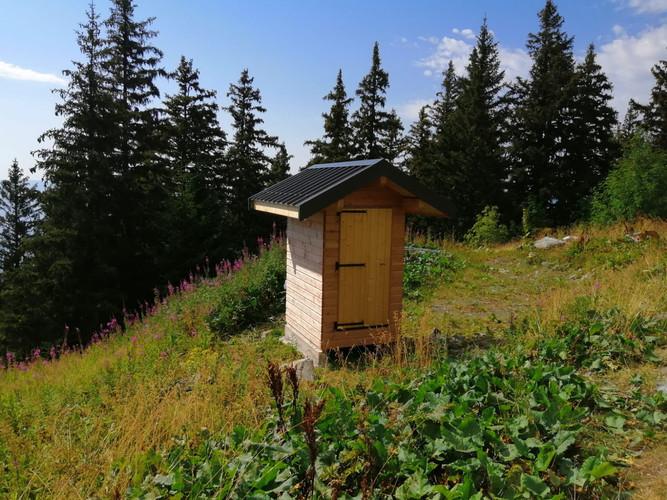 Toilette sèche