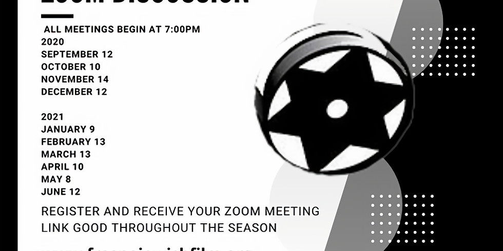 FILM ZOOM DISCUSSION MAY 8, 2021