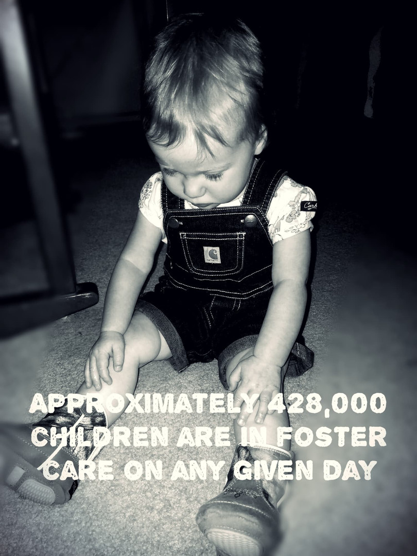 428,000 children are in foster care on any given day