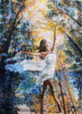 Dancer - Artist Amanda Shatzko