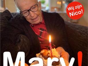 Een muzikale ansichtkaart van Mary