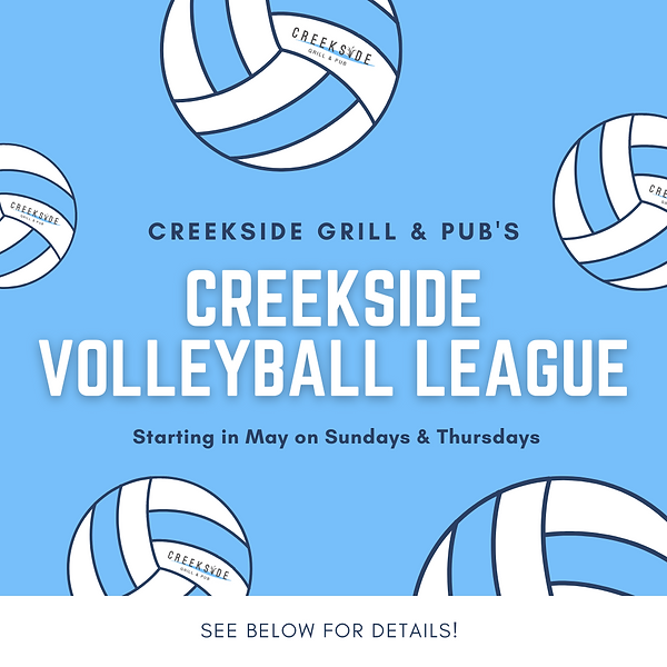 Creekside Volleyball League Post.png