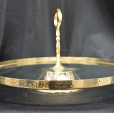 Gold Banded Platter