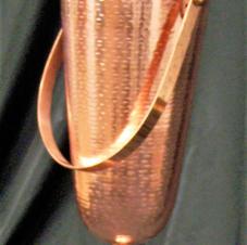 Rose Gold Hammered Bucket