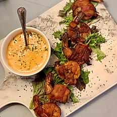 BACON WRAPPED SHRIMP (QTY 6) GF