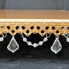 Gold Beaded Stand