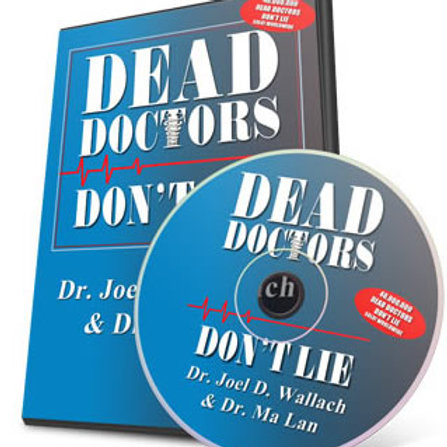 Book- Dead Doctor's Don't Lie Book & CD Combo