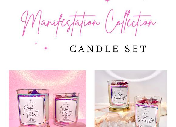 Manifestation Candle Set