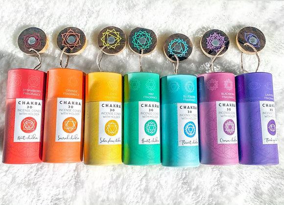 Chakra Incense Cones
