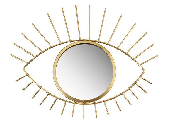 Gold Tribal Eye See You Mirror