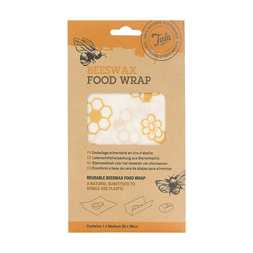 Single Beeswax Wrap. zero waste bulk foods. plastic free. online. horsham. dorking.