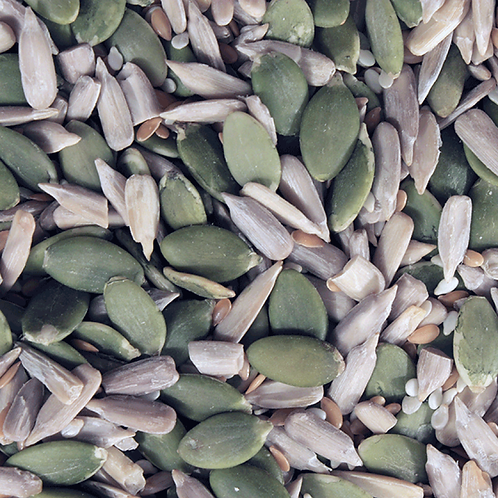 Organic Omega Four Seed Mix. zero waste bulk foods. plastic free. horsham. sussex. online