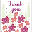 Thumbnail: Thank You Wildflower Seed Card
