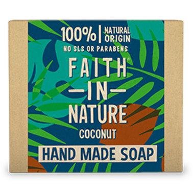 faith in nature coconut soap. zero waste bulk foods. plastic free. horsham. sussex. online