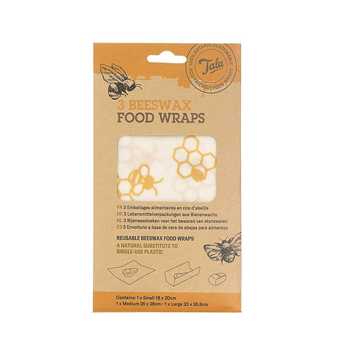 Honeycomb Wax Wrap set of 3. zero waste bulk foods. plastic free. online. horsham. dorking.