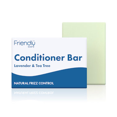 Lavender & Tea Tree conditioner bar by Friendly Soap. zero waste bulk foods. plastic free. online. horsham. sussex