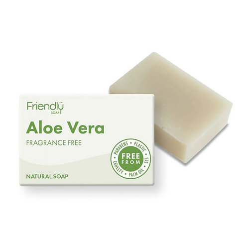 Friendly soap. aloe vera. fragrance free. zero waste bulk foods. plastic free. horsham. dorking. online