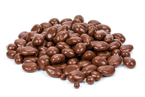 Chocolate raisins. plastic free. zero waste. horsham. Sussex