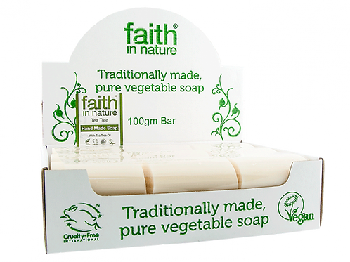 Tea tree soap bar. zero waste bulk foods. plastic free. horsham,. sussex, online