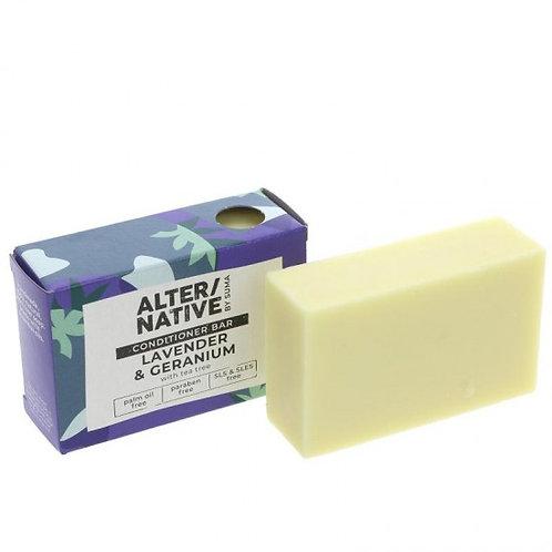 Lavender & Geranium Conditioner Bar. Plastic Free. Zero waste bulk foods. Horsham,