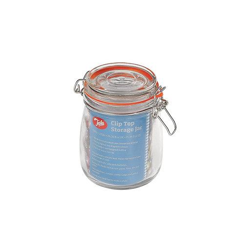 Tala clip top airtight glass jar. 750ml. zero waste bulk foods. plastic free. horsham. dorking. on-line