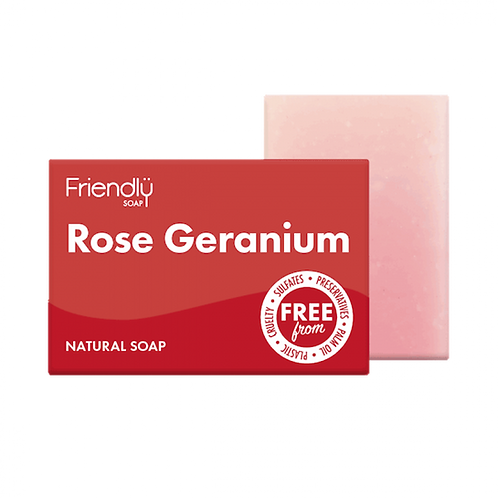 friendly soap. rose geranium. zero waste bulk foods. horsham. dorking. online. plastic free