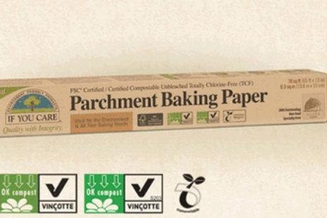 Parchment Baking Paper. Compostable. Plastic Free. Zero Waste Bulk Foods. Horsham. Sussex