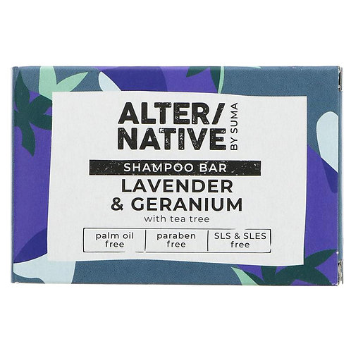Lavender & Geranium Shampoo Bar. plastic free. zero waste bulk foods. horsham