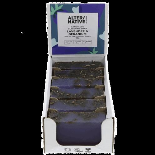 Hand Soap Bar - Lavender & Geranium (90g)