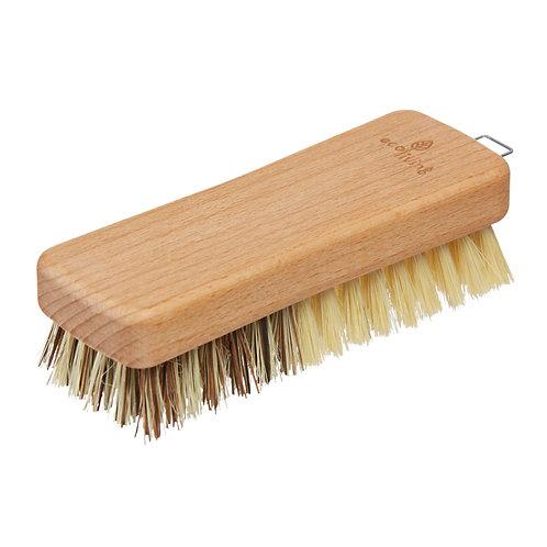 Wooden vegetable brush. zero waste bulk foods. plastic free. horsham. sussex