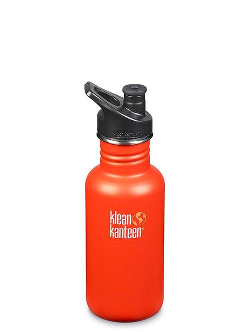 klean kanteen classic reusable bottle. 532ml. sierra sunset. zero waste bulk foods. plastic free. horsham. dorking. online