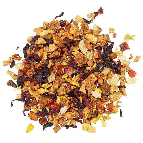 Ronnefeldt Rhubarb Cream Loose Leaf Tea. zero waste bulk foods. plastic free. online. horsham. dorking
