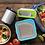 "Klean Kanteen Stainless Steel Lunch Box 6"" x 8"" on picnic table. zero waste bulk foods. plastic free. online. horsham"