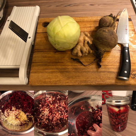 Orders and Immune Boosting Sauerkraut Recipe