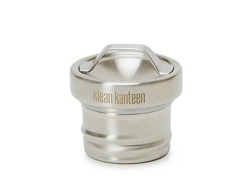Klean Kanteen Brushed Stainless Steel Loop Cap - Leakproof