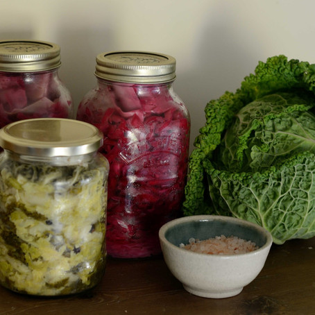 Fermentation – Easy Sauerkraut and Kombucha recipes