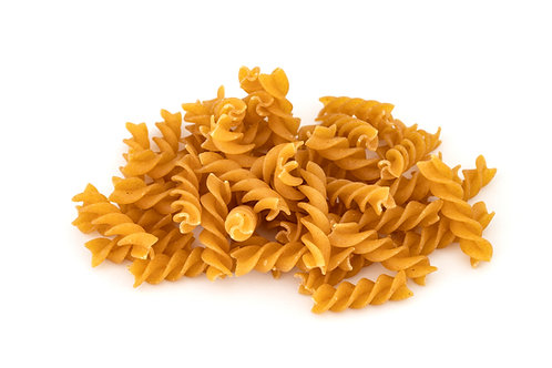 Organic wholewheat fusilli. plastic free. zero waste. horsham. Sussex